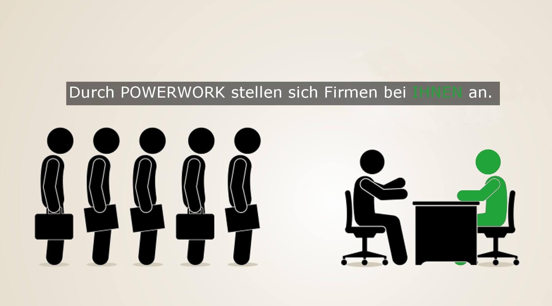 Powerwork GmbH   Bewerbung bringt Erfolg