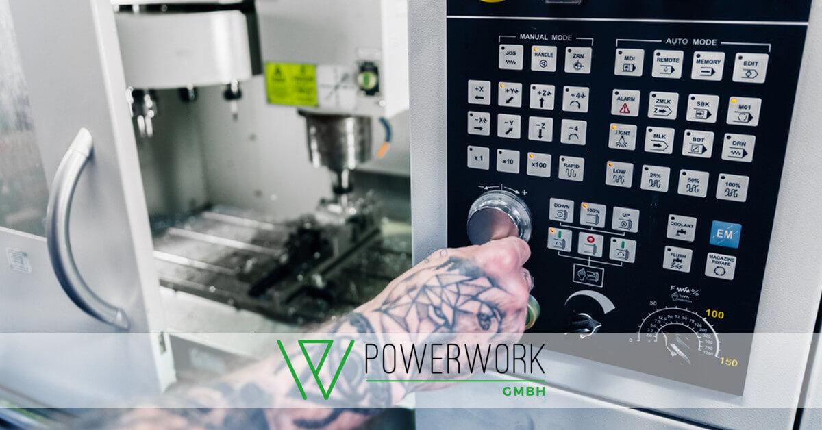 CNC Maschinendiener | Powerwork GmbH